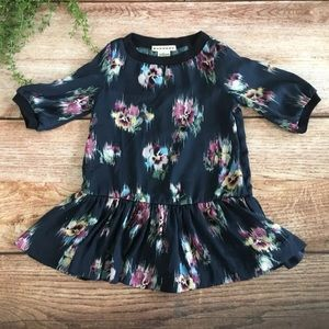 Anthem of the Ants Navy Pansy Dress 18 Months